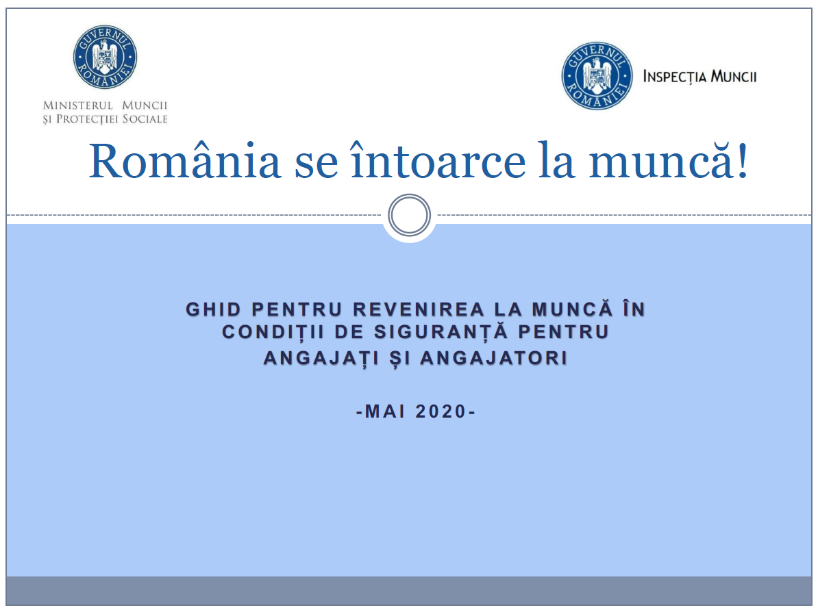 Romania se intoarce la munca!