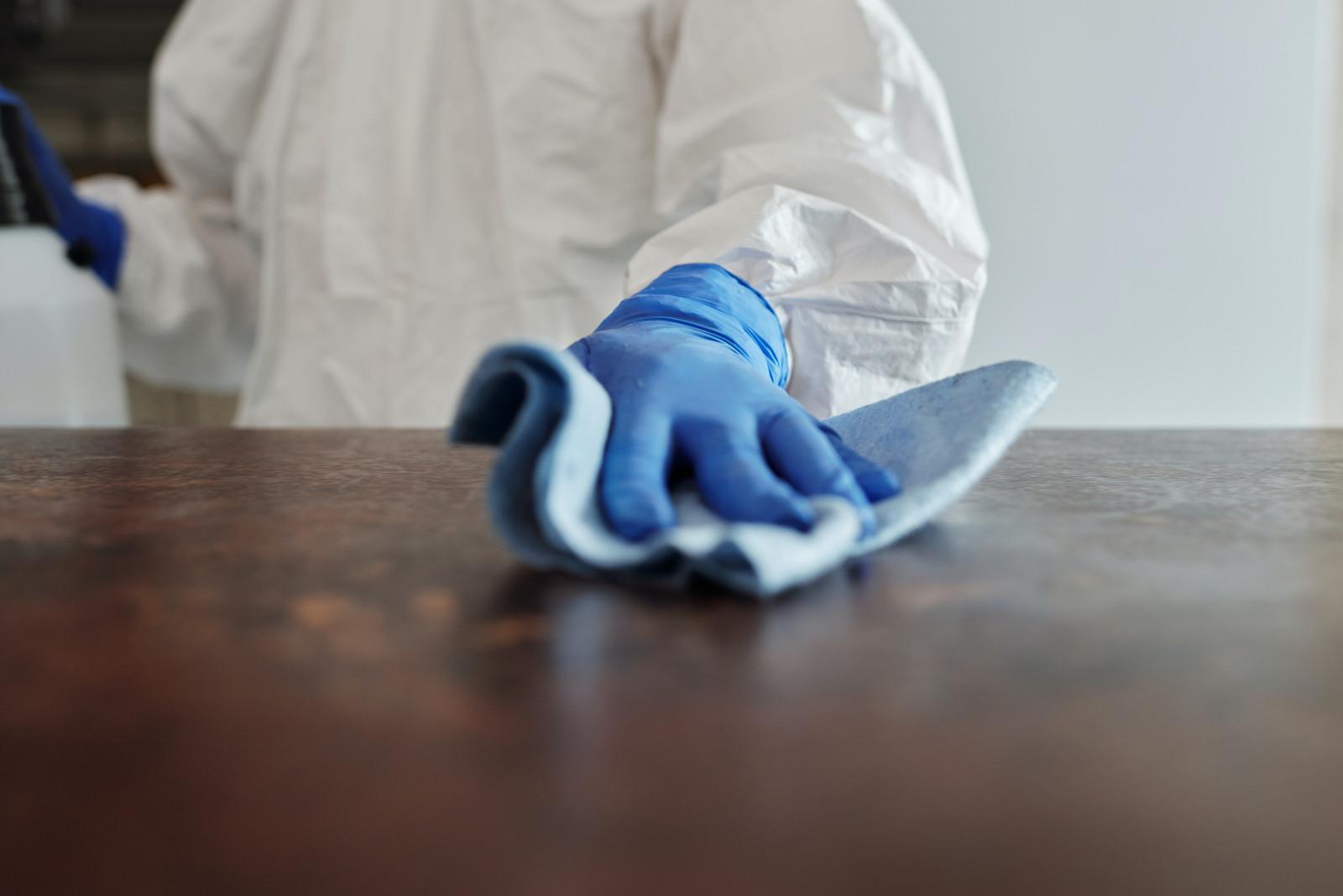 Recomandari privind prevenirea raspandirii noului coronavirus la efectuarea curateniei in sectorul non medical