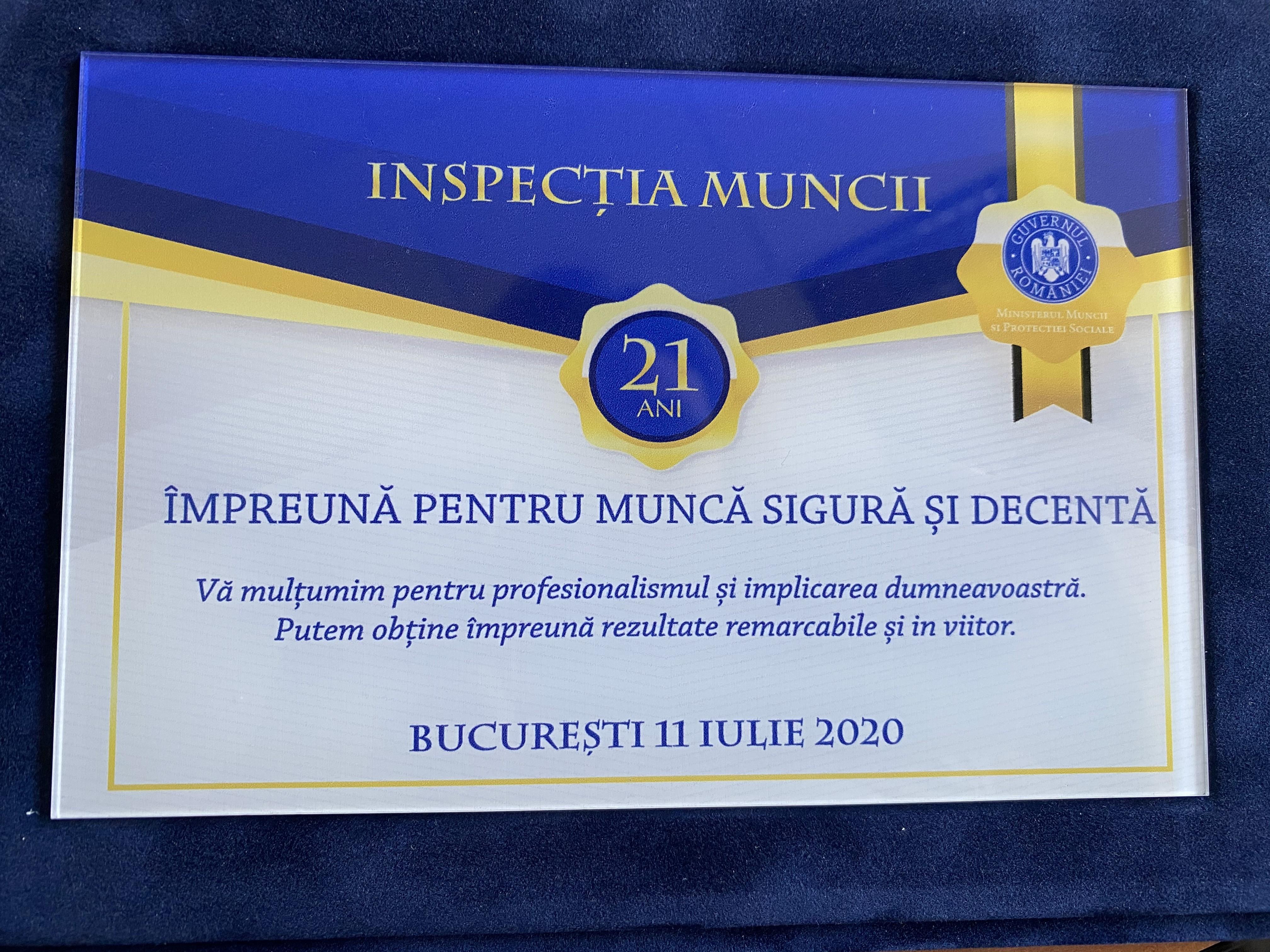 INSPECTORII DE MUNCA ARADENI IMPLICATI ACTIV IN LUPTA IMPOTRIVA RASPANDIRII COVID-19